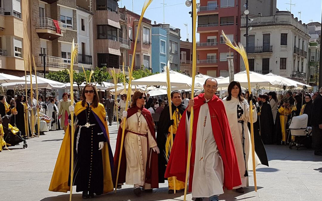 Benifaió celebró con una alta participación  el Domingo de Ramos