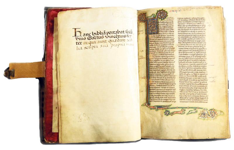 De puño y letra de san Vicente Ferrer, en la Catedral Por Vicente Pons Alós. Canónigo archivero de la Catedral  de Valencia