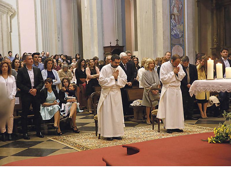 Dos jóvenes Cooperadores de la Verdad reciben su ordenación sacerdotal Juan Carlos Picornell, de Gandía, y Matteo Geffati, de Milán
