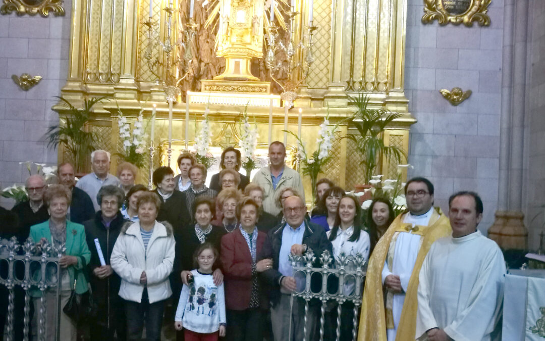 Beniarrés celebra el aniversario de la coronación canónica de su patrona