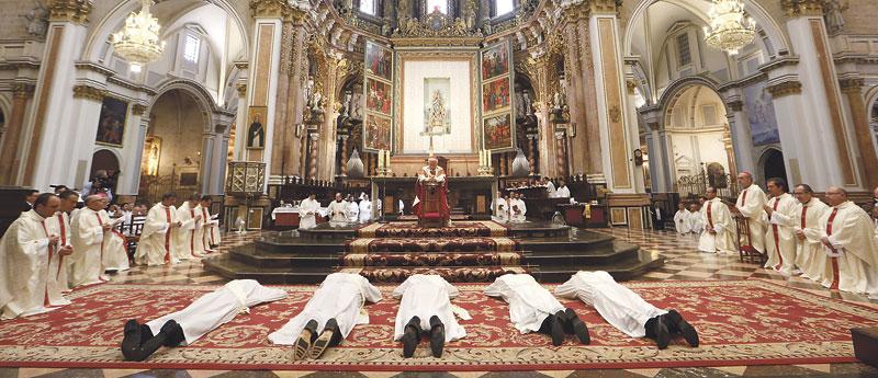 El regalo de diez nuevos sacerdotes Este sábado, ordenaciones en la catedral de Valencia