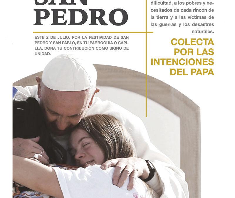 El Papa necesita tu ayuda para socorrer a los pobres y necesitados