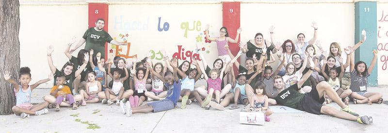 Respiro de alegría -y de comida- en Valencia para los necesitados con 'Un verano diferente' Lo disfrutan ya sus hijos en colegios diocesanos abiertos con voluntarios en vacaciones