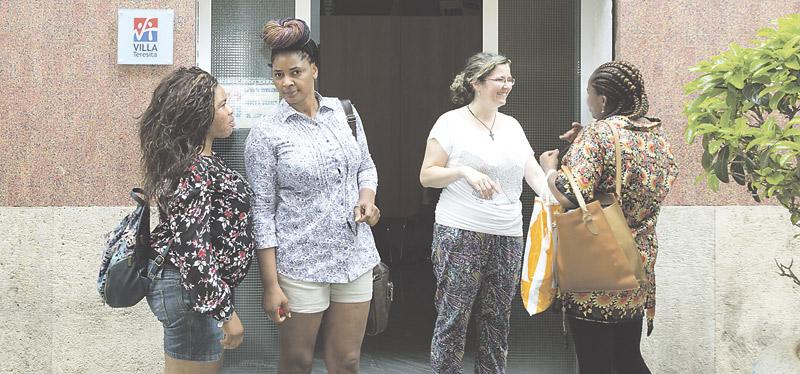 Villa Teresita, una luz de esperanza en Valencia para las mujeres rescatadas de la calle 75 años del instituto de vida consagrada que atiende a prostitutas y víctimas de trata