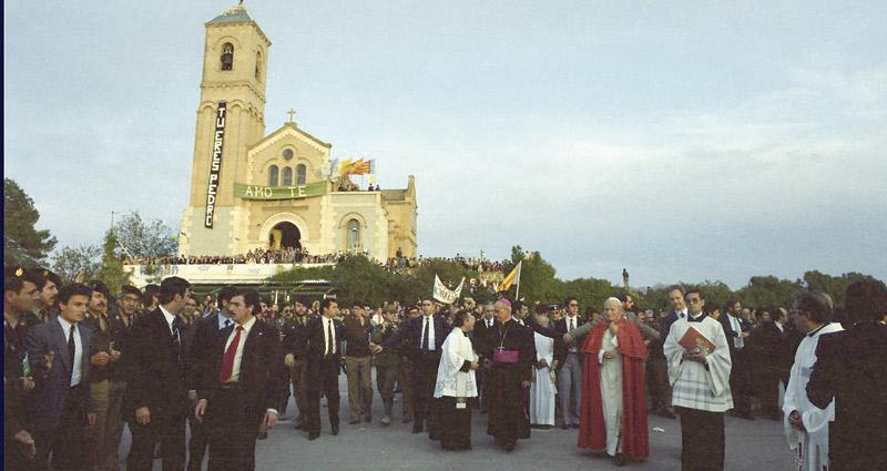 S. Juan Pablo II, 'testigo de esperanza' en España Artílculo del cardenal arzobispo de Valencia