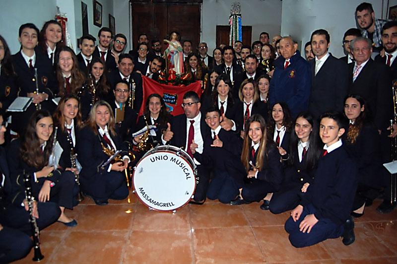 Benigànim y Massamagrell celebran Santa Cecilia Con misas y conciertos