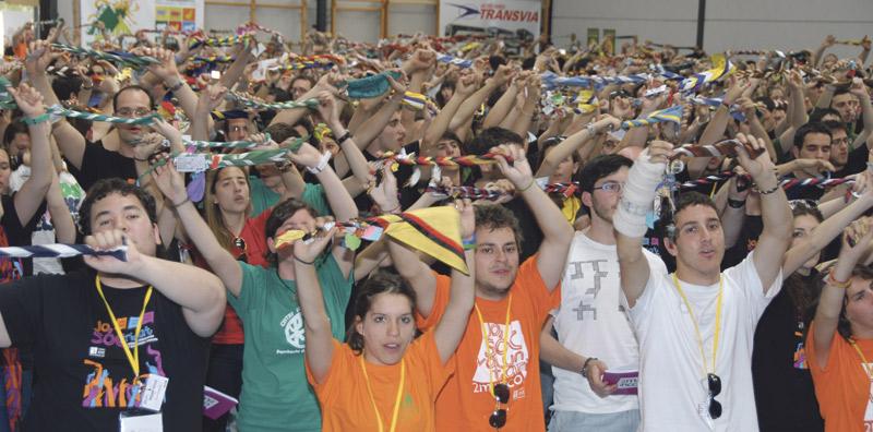 1.200 inscritos en la trobada 2miliPico El Seminario Mayor de Moncada acoge el encuentro de educadores Juniors MD