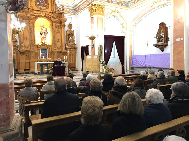 Encuentro de Adviento en el Camp de Morvedre Se celebró en la parroquia Santa Ana de Quartell