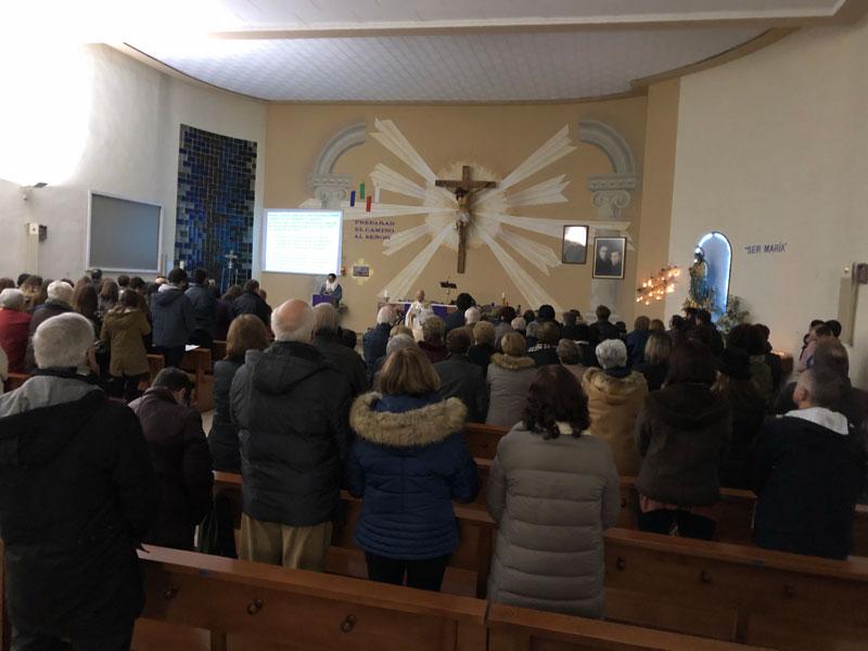 Las localidades de la diócesis celebran la Inmaculada Con vigilias y misas