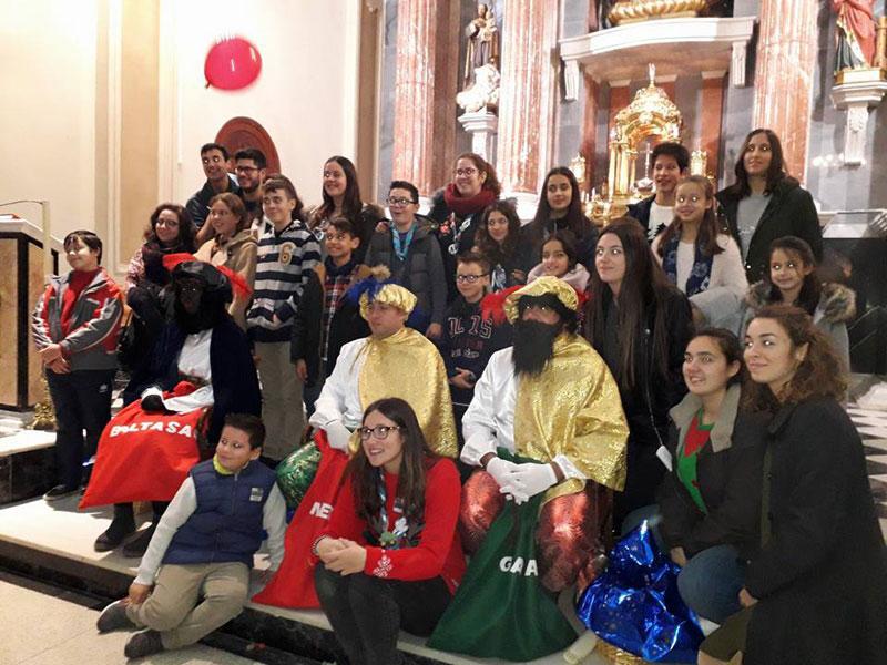 La parroquia San Jaime de Moncada celebra la Navidad Con diferentes celebraciones
