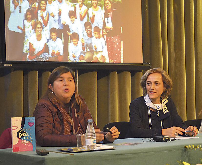 """""""Con familia numerosa te lo pasas bomba a pesar de los problemas y dificultades"""" Rosa Pich, madre de 18 hijos, ofrece su experiencia en el colegio mayor La Asunción"""