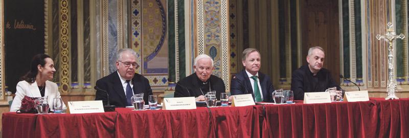 """""""Los tribunales de Justicia deben ser tribunales de misericordia"""" El Arzobispo preside el acto de apertura del Año Judicial, en La Beneficencia"""