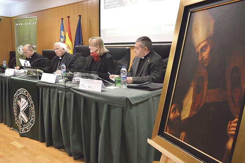 El Cardenal impulsa la solicitud para que santo Tomás de Villanueva sea Doctor de la Iglesia La UCV celebra un congreso sobre el histórico arzobispo de la diócesis