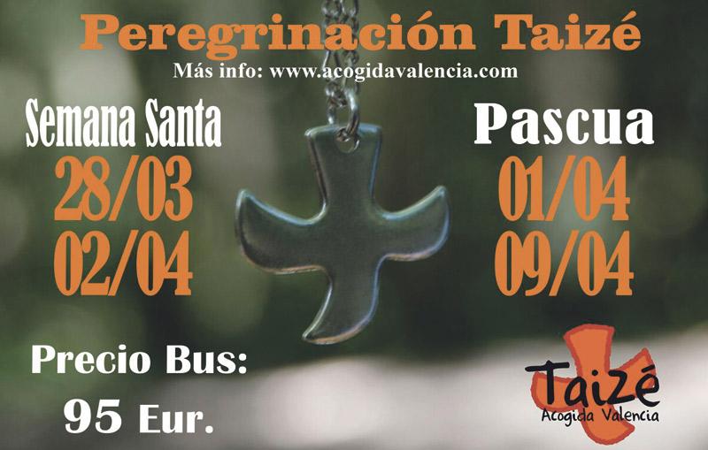 A Taizé en Semana Santa y Pascua Abiertas las inscripciones para las peregrinaciones desde Valencia a la comunidad ecuménica