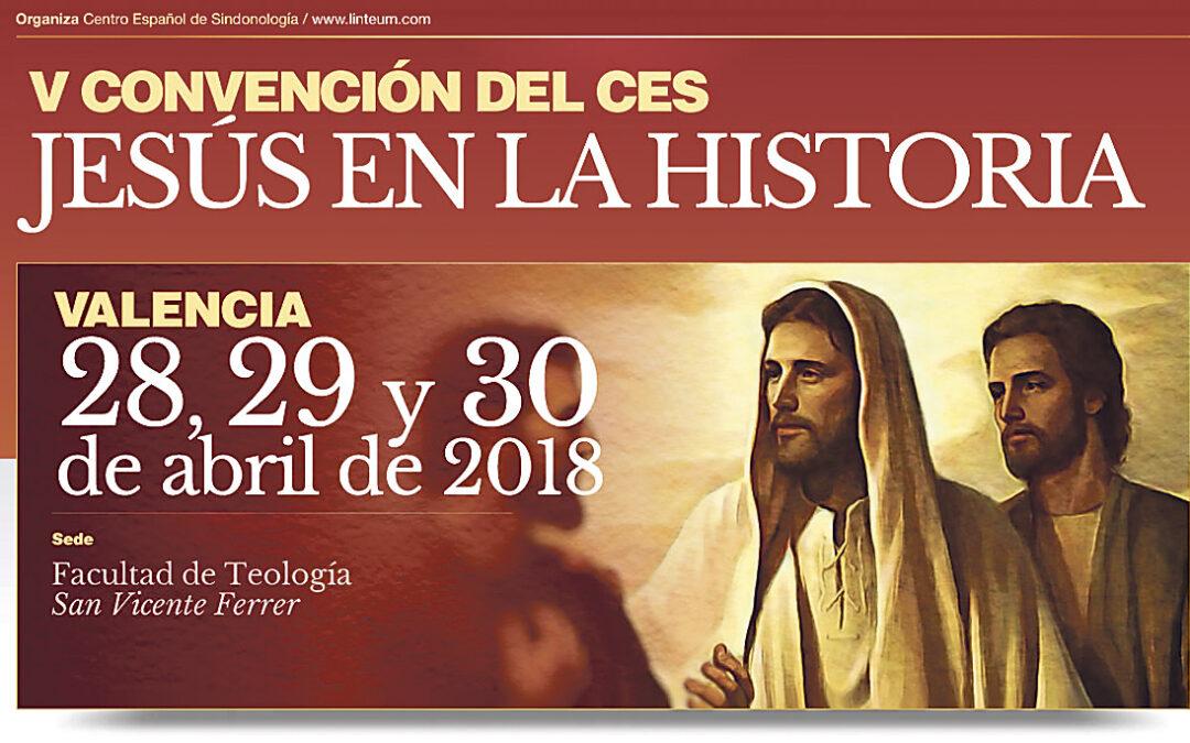 El Centro Español de Sindonología reúne a especialistas sobre 'Jesús en la Historia' En Valencia, del 28 al 30, con catedráticos de distintas áreas