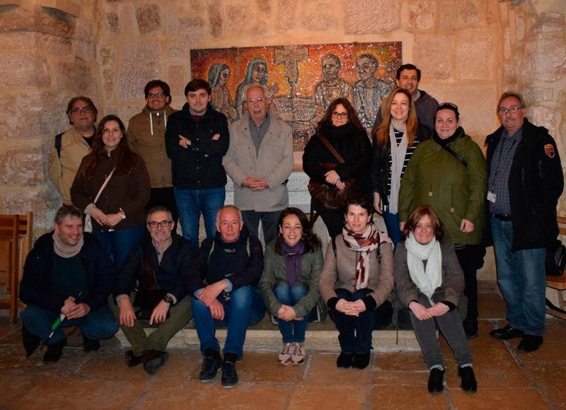 Miembros de Cáritas de toda España conocen la labor de la entidad en Tierra Santa Entre ellos una representación de Cáritas Valencia