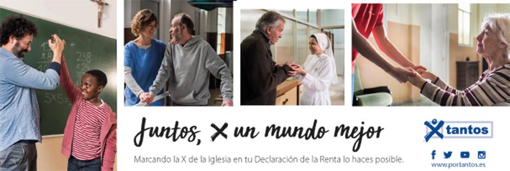 """La coherencia de poner la X en la Declaración de la Renta """"Es preciso que caminemos hacia una cada vez mayor autofinanciación de la Iglesia para hacerla más libre"""". Carta semanal del cardenal arzobispo de Valencia, Antonio Cañizares"""