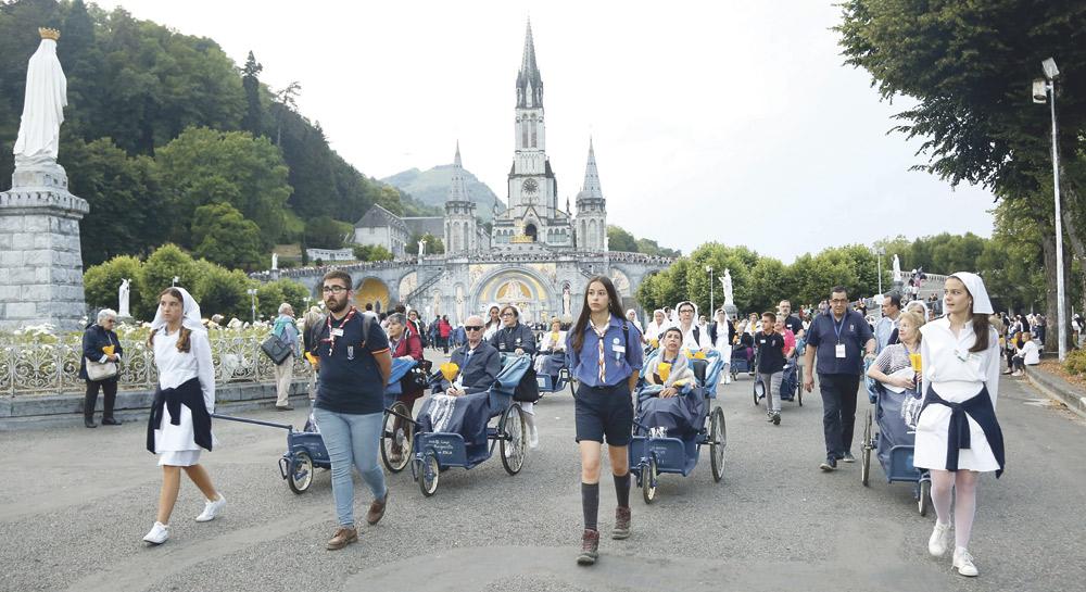 Encuentro con la Virgen de Lourdes sin enfermos  Del 25 al 28 de septiembre organizado por la Hospitalidad Valenciana