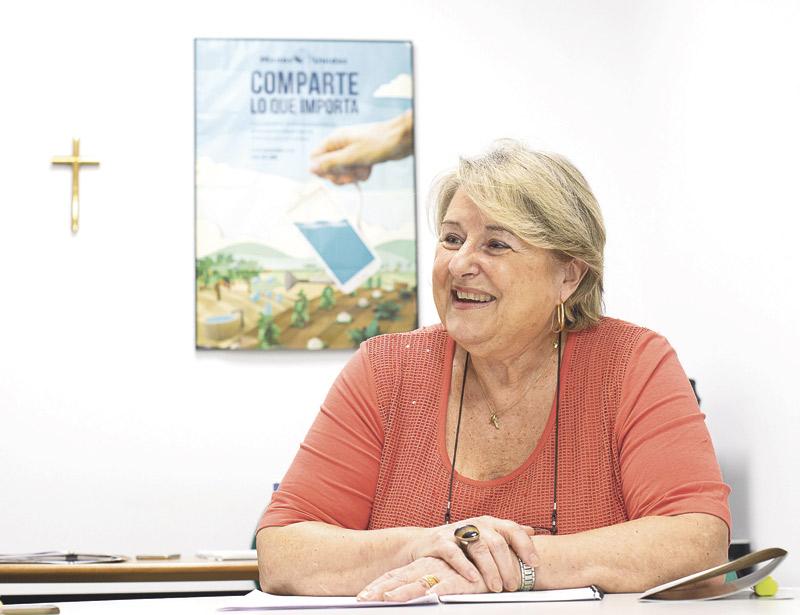 """""""Hay que denunciar el hambre de alimentos,  de justicia y de dignidad"""" PARAULA entrevista a Ana Ruiz, nueva presidenta delegada de Manos Unidas en Valencia"""