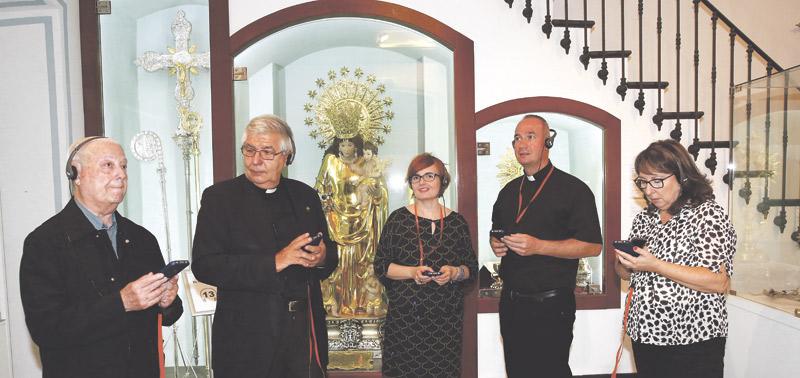 Llegan las audioguías al Museo Mariano de la Basílica con dramatizaciones y música Ofrece un recorrido por las principales obras conservadas en torno a la Virgen de los Desamparados