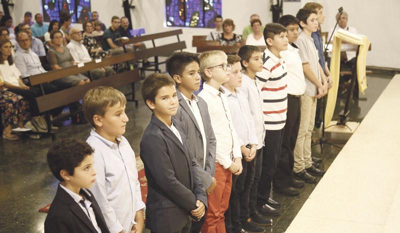 """Once nuevos seminaristas en el inicio de curso del Seminario Menor en Xàtiva El cardenal Cañizares les alienta a vivir """"este tiempo precioso de formación y discernimiento"""""""