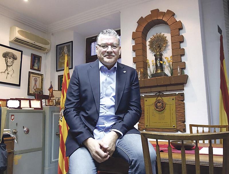 Centro Aragonés en Valencia, cien años a los pies de la 'Pilarica' Conmemora su aniversario con exposiciones y la publicación de un libro