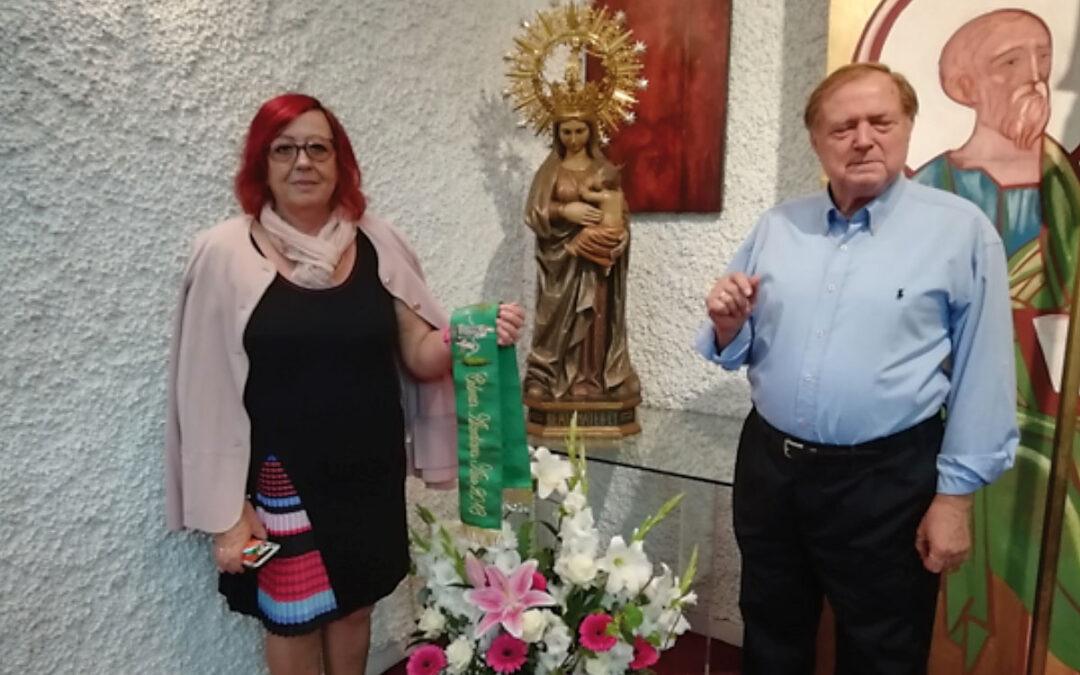 Fiesta de la Virgen del Oreto en Valencia Organizada por la Colonia Alcudiana en la parroquia Santo Tomás