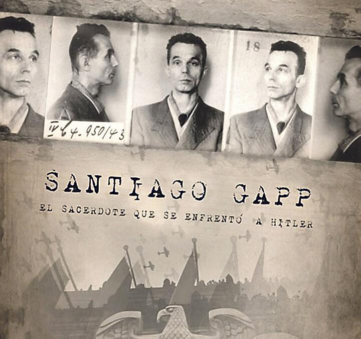 Una vida de auténtica película y final de santo Un joven valenciano realiza un documental sobre el beato mártir austriaco Santiago Gapp, ejecutado por los nazis en 1943 tras localizarlo en Valencia, y filma en escenarios naturales y en la prisión donde fue decapitado