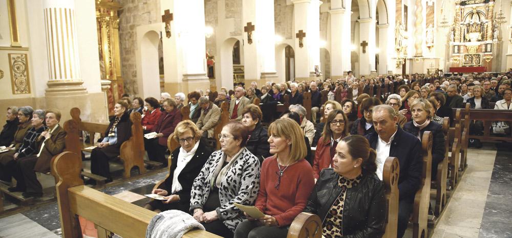"""El Cardenal llama desde Alzira a ser  """"fuertes en la fe y animosos en la esperanza"""" Completa la visita pastoral a la Ribera junto a los obispos auxiliares a pesar de las lluvias torrenciales"""