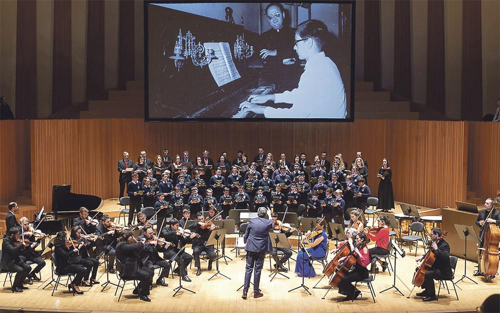 Inolvidable cumpleaños de la Escolanía en Les Arts Brillante conmemoración por su 60 aniversario, llena de recuerdos y gratitud