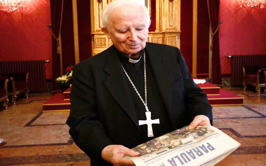 Mil quinientos números de PARAULA  al comenzar el nuevo año Carta semanal del cardenal arzobispo de Valencia, Antonio Cañizares