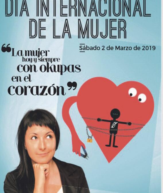 8-M en Valencia:la mujer, 'hoy y siempre, con okupas en el corazón' Jornada delForo de Laicos y la Coordinadora Femenina