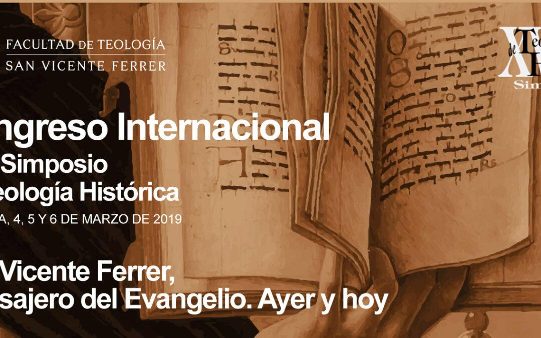 Expertos internacionales analizarán en  Valencia la figura de san Vicente Ferrer En un congreso sobre su dimensión evangelizadora, organizado por la facultad de Teología del 4 al 6 de marzo