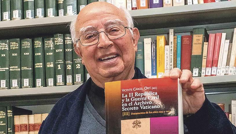 """""""La historia fue la que fue, y no se puede contar  ahora al revés""""  Vicente Cárcel. Historiador, máximo investigador en España sobre la persecución religiosa"""