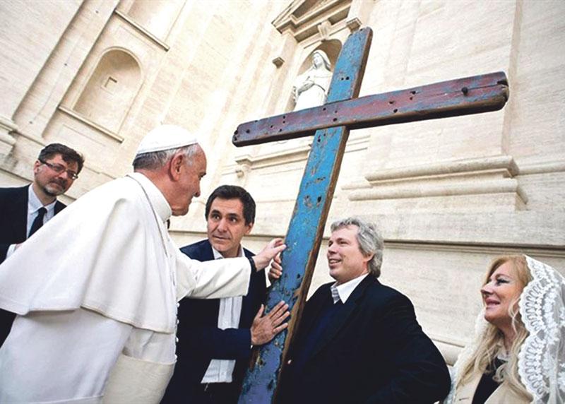 La Cruz de Lampedusa, símbolo del drama de los refugiados, llega a Valencia Estará del 30 de abril al 31 de mayo en la parroquia de San José Artesano, en el barrio de la Ciudad Fallera