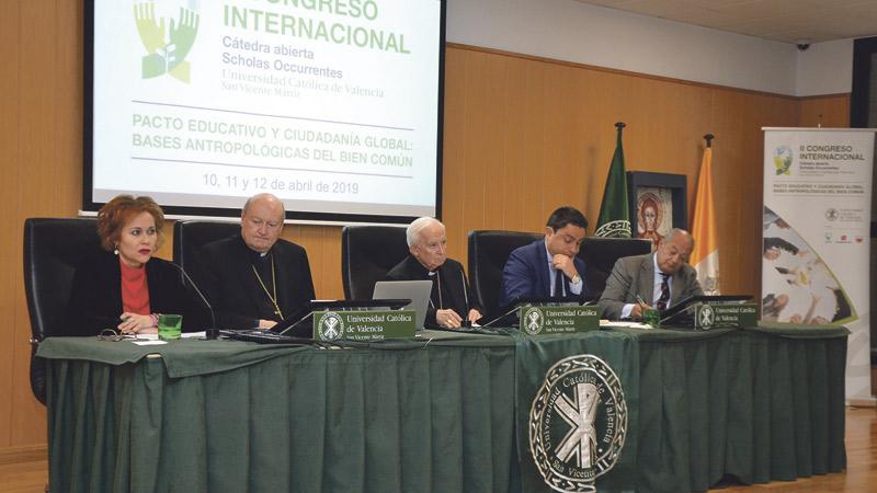 El cardenal Cañizares apela a un pacto educativo global que renueve la sociedad II CONGRESO INTERNACIONAL SCHOLAS OCCURRENTES