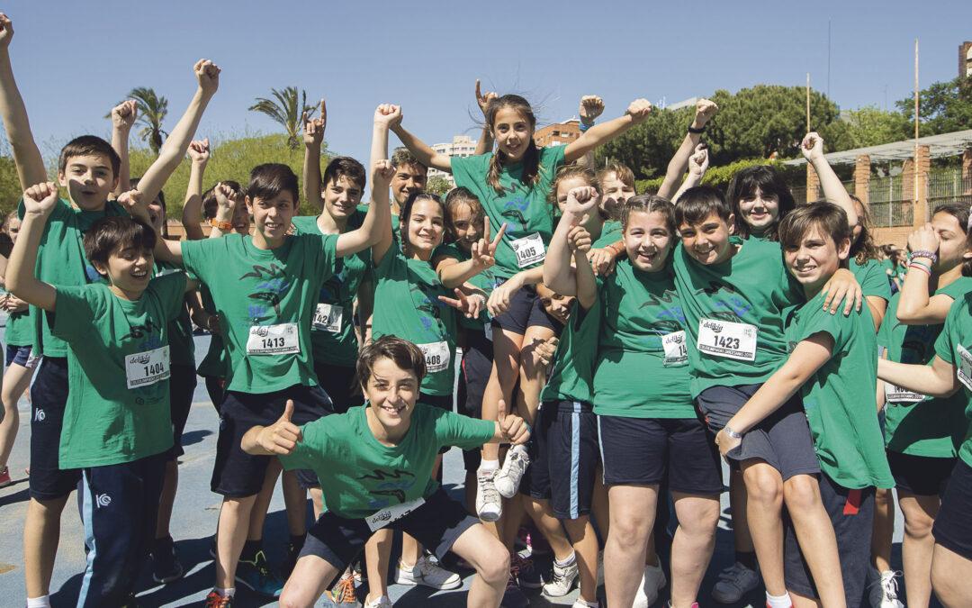 Deporte, diversión y compañerismo en la IX edición de las Coleolimpiadas diocesanas 55 colegios, 2.200 alumnos y 130 profesores disfrutan de una jornada atlética en las pistas del río Turia
