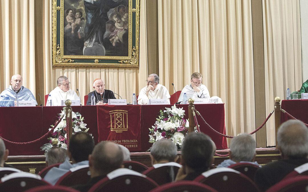 El Arzobispo pide la colaboración de la Facultad de Teología en el Sínodo Diocesano Durante la apertura de curso de la Facultad de Teología San Vicente Ferrer de Valencia