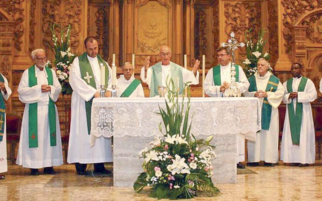 Benigànim rinde homenaje a los Agustinos Recoletos en su despedida tras 54 años al frente de la parroquia Con una misa de acción de gracias y una multitudinaria cena de hermandad