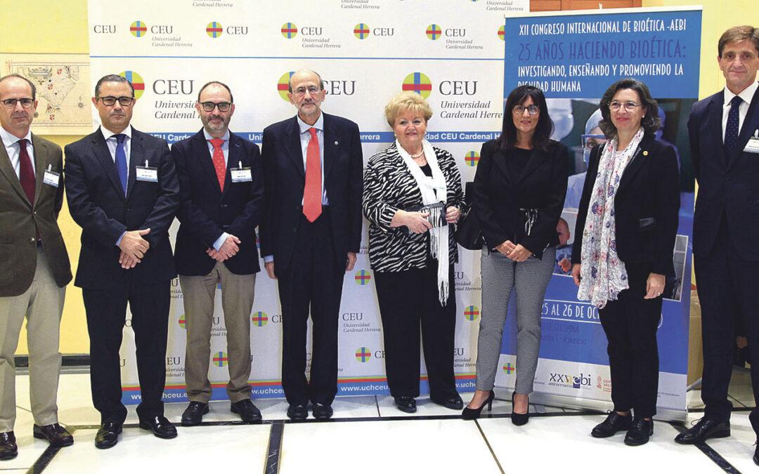 Valencia acoge el congreso internacional de expertos en bioética En la Universidad CEU Cardenal Herrera