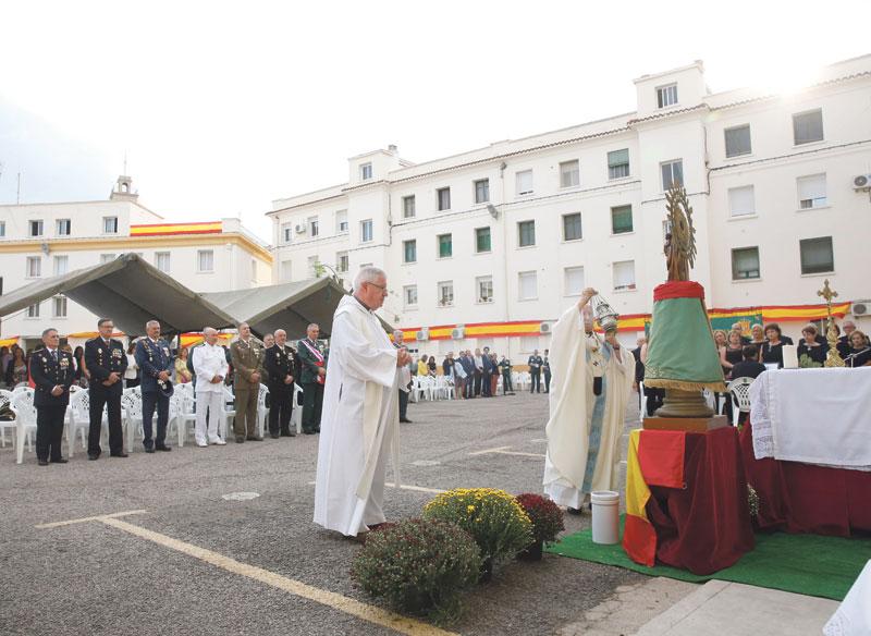 Fiesta del Pilar en diferentes pueblos de la diócesis Con la presencia de la Guardia Civil