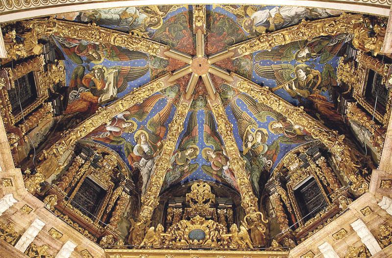Comienza el estudio de las afecciones de los ángeles músicos de la Catedral