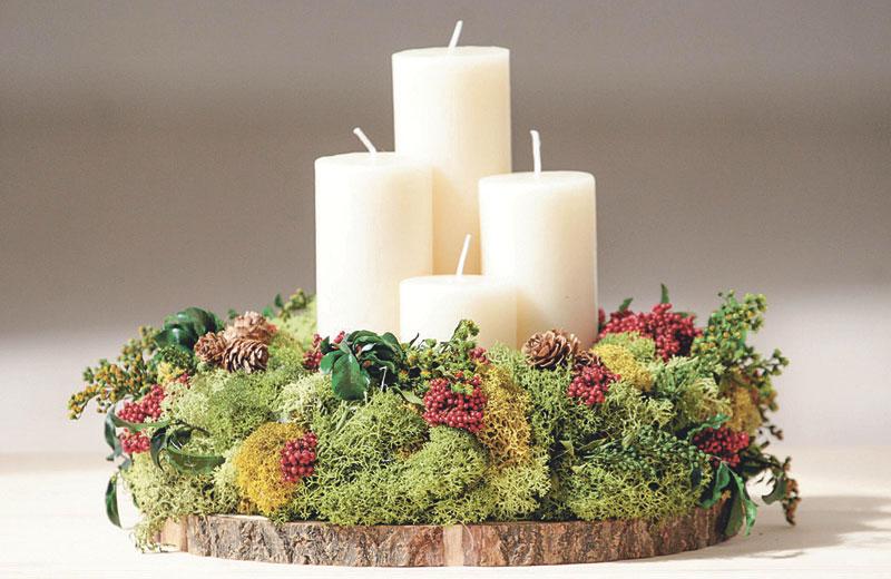 Iesu Communio amplía su tienda con productos navideños Ofrece ya coronas de Adviento