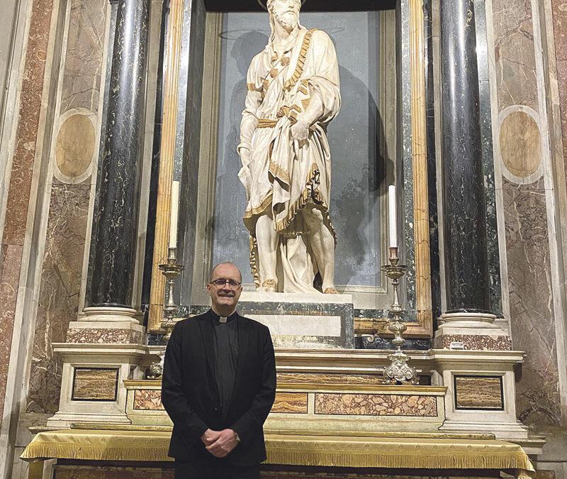 El valenciano Mons. José Jaime Brosel, rector de la Iglesia Nacional Española de Roma