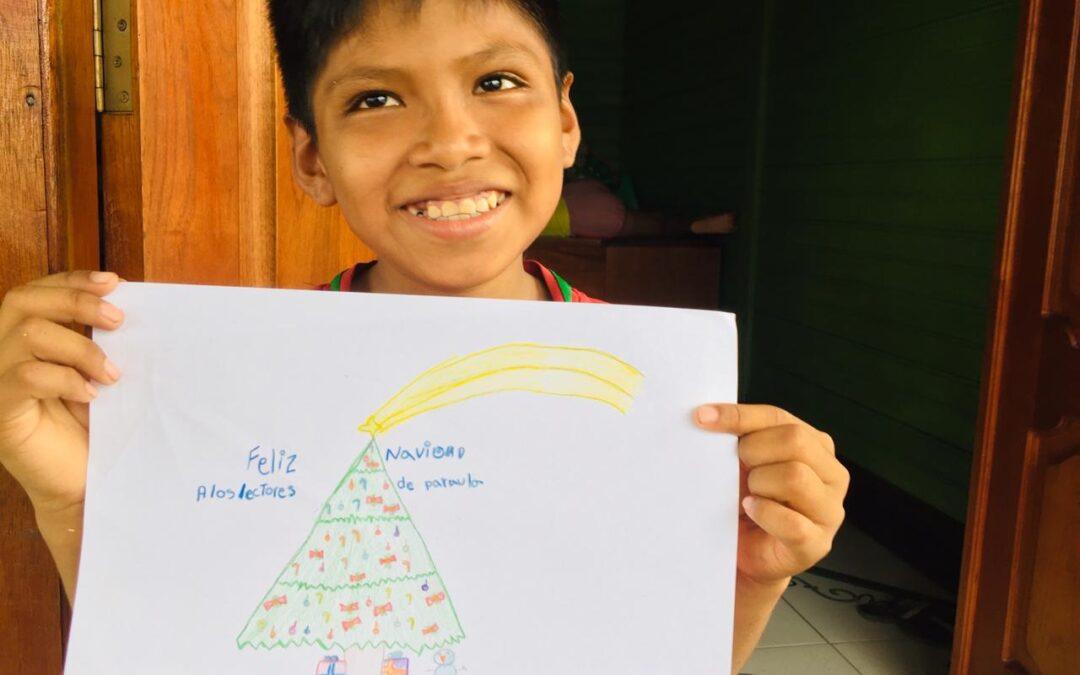 Felicitaciones navideñas desde el Amazonas para PARAULA
