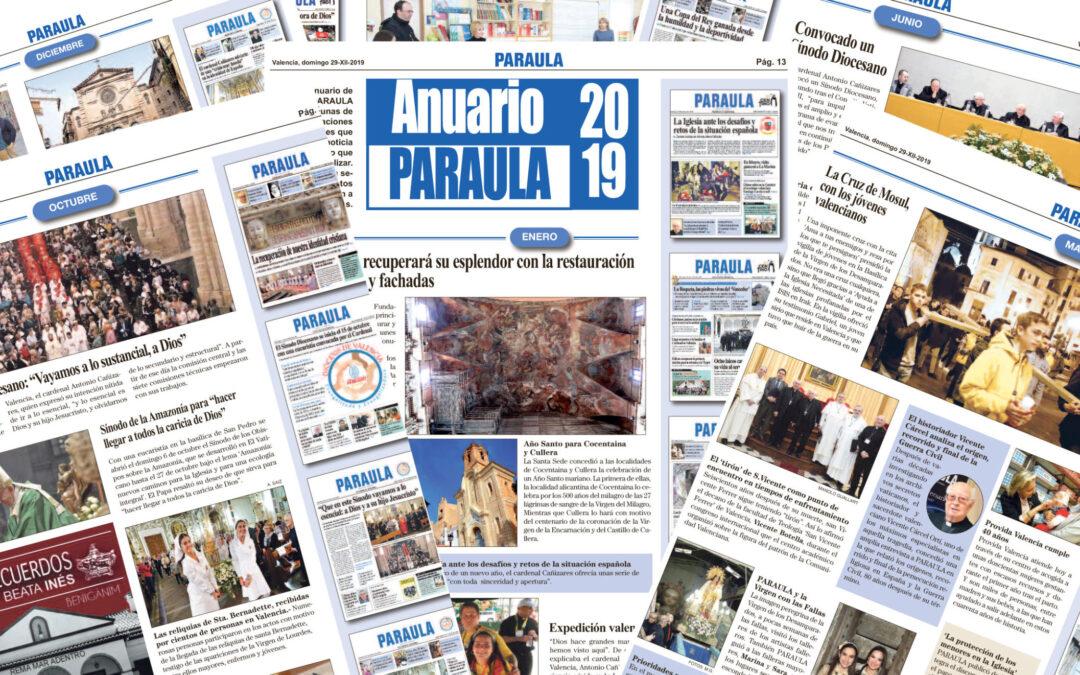 Anuario PARAULA 2019. Las portadas, imágenes y noticias más destacadas del año que termina