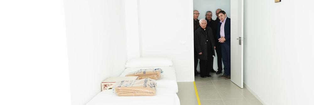 El centro nocturno de Cáritas Diocesana completa todas sus plazas la primera noche