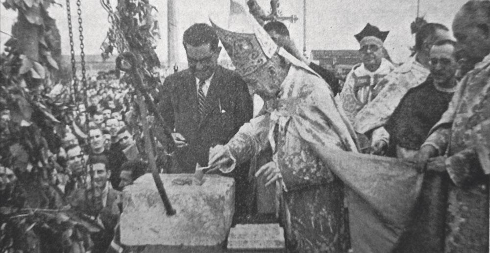 Aquella primera piedra…'El nuevo Seminario, obra de toda una diócesis', exposición sobre los 75 años del inicio de obras enMoncada