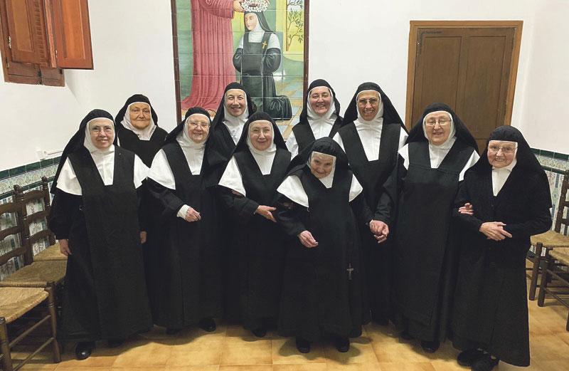 Agustinas Descalzas: así brota su manantial  de alegría desde hace 400 años en Benigànim