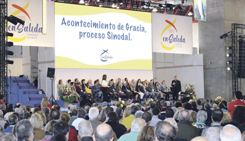 Un pueblo en salida hacia un renovado PentecostésLa diócesis de Valencia participa en el Congreso Nacional de Laicos celebrado en Madrid